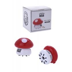 3T Mini aspirador de mesa «Mushroom» rojo