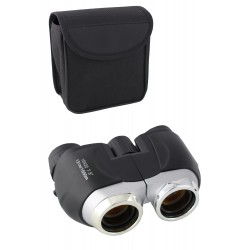 1T. Black binocular with amber lenses 10 x 22