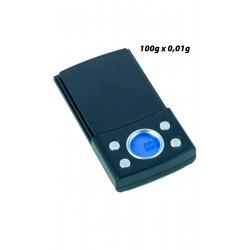 3T. Báscula digital de precisión 100 x 0,01 g. «Bullet»