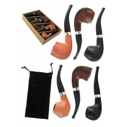 1T. Colection 6 wooden pipe