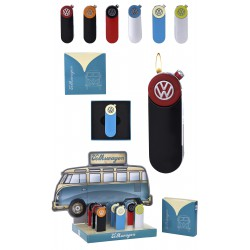 3T. Display with 9 piezo lighters «Champ VW»