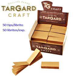 1T. Display with 50 booklets of 50 filter papers (Tips) WITHOUT PERFORATE «Tar Gard Craft»