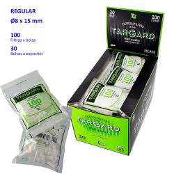 1T. Display «Tar Gard» 8 mm REGULAR with 30 bags of 100 fliters