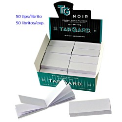 1T. Display with 50 booklets of 50 filter papers WITHOUT PERFORATE «Tar Gard Noir®»