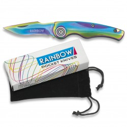 3T. Pocket knife «ALBAINOX» rainbow 6,4 cm