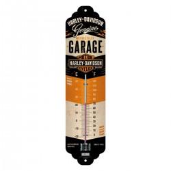 3T. «Harley Davidson» Metal thermometer 28 x 6,5 cm.