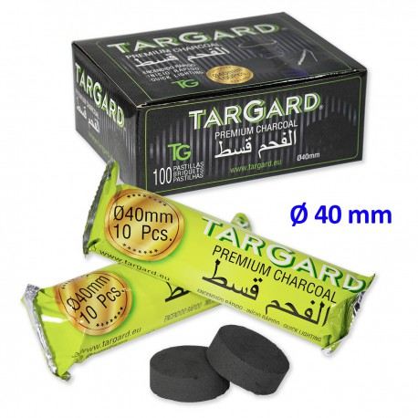 1T. Ø40 mm. Charcoal tablets «Tar Gard» for shisha