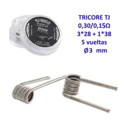 3T. Coils TRICORE TJ FULL NICHROME