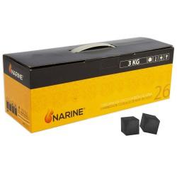3T. Box of 3kg «NARINE» of natural coconut coal