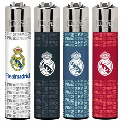 4T. Display with 48 Clipper lighters «REAL MADRID»