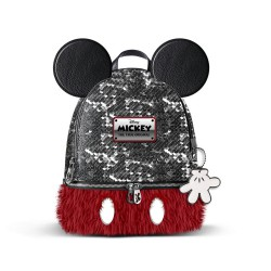 3T. MICKEY backpack Bouquet Pq Sequin
