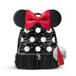 3T. MINNIE backpack Bouquet Pq Sequin
