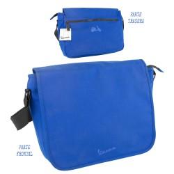 3T. Horizontal bag «Vespa» black/blue