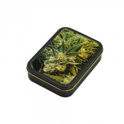 3T. Caja metal «Weed» 8 x 11 cm.