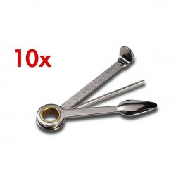 3T. Pack 10 Metallic pipes tool 3 accessories