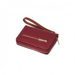 3T. Borgondy wallet