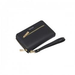 3T. Black wallet