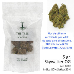 3T. CBD Flower SKYWALKER OG Bag 5gr.