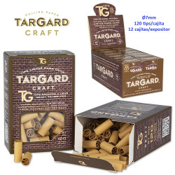 4T. Display with 12 boxes 120 tips «Tar Gard CRAFT®» pre rolled «Ready to use»
