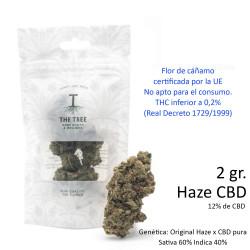 3T. HAZE CBD bag 2gr.