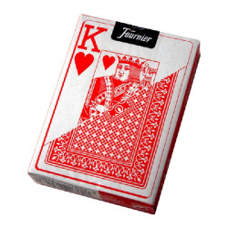 4T. Box with 12 «Fournier» poker cards 818-55