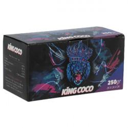 4T. Caja de 250 gr. Carbón vegetal «KING COCO»