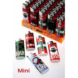 4T. Expositor con 50 encendedores «BIC» Mini «Euskadi» surtidos