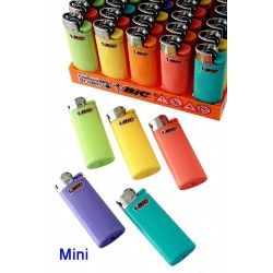 4T. Expositor con 50 encendedores «BIC» Mini «Pastel» surtidos