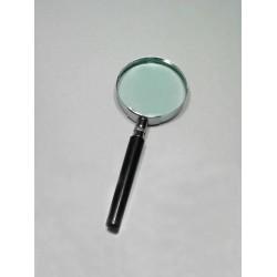 1T. Lupa con lente de cristal de 75 mm.