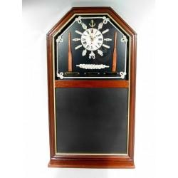 1T. Cuadro pizarra marinero con reloj (mod. A121-58A)