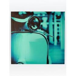 5T. «Vespa» blue painting