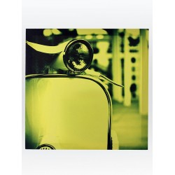 5T. Cuadro verde «Vespa»