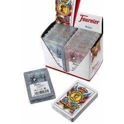 4T. Box with 12 «Fournier» spanish cards 5-50
