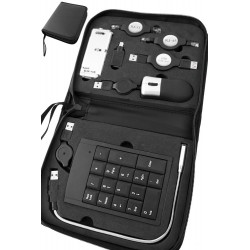 5T. Case with 8 computer accessory