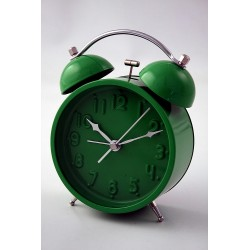 5T. Green L Alarm Clock Mc2106.Gr.D&N
