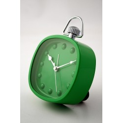 5T. Green Square Alarm Clock Mc2102.Gr.Dots