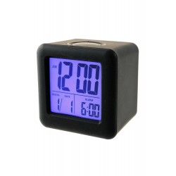 1T. Square black Alarm Clock