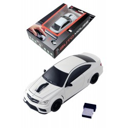 5T. White Bluetooth mouse «Mercedes-Benz C63 AMG Coupe»