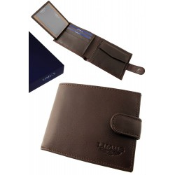 3T. Mahoney leather wallet with purse «Limus»