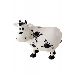 1T. Cow with ink stains money box