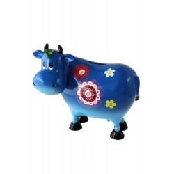 1T. Blue cow money box