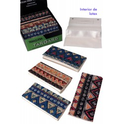 1T. Display «TG» with 12 assorted  tobacco bags with textile decoration