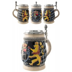 2T. Decorative mug beer 650 ml- «Lions shield»