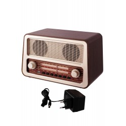 3T. Radio with analog display «RETRO» AM/FM. and Mp3 player for USB