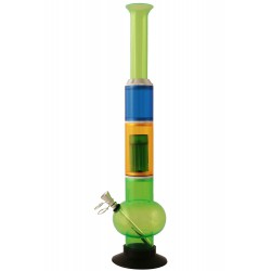 1T. 45 cm. Green acrilic spherical bong