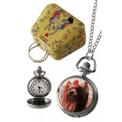 1T. Clock of hanging «Terrier». In metallic case.