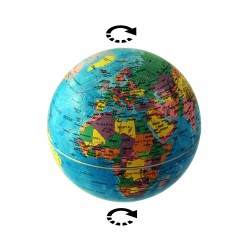 1T. Rotating globe