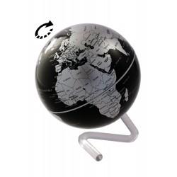 1T. Rotating globe. Political map