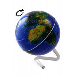 1T. Rotating globe golden/black