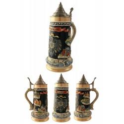 2T. Decorative ceramic mug beer 750 ml. «Deutschland».